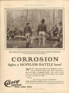 philip carey company 1928 corrosion battle asbestos oil vintage ad