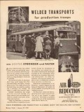 air reduction 1943 airco welded transport production troops vintage ad