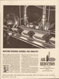 air reduction 1943 airco machine welding arteries industry vintage ad
