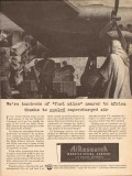 airearch mfg company 1943 fuel miles nearer cooled ww2 vintage ad