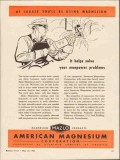 american magnesium corp 1943 helps solve manpower problems vintage ad