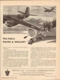 american viscose corp 1943 this fabric packs wallop rayon vintage ad