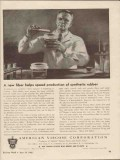 american viscose co 1943 speed production synthetic rubber vintage ad