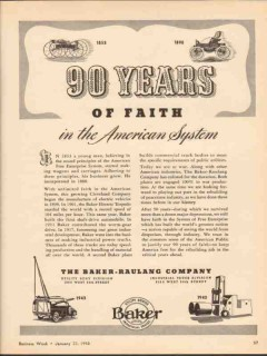 baker-rauling company 1943 years faith american system vintage ad