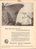 bankers trust company 1943 production lines battle line ww2 vintage ad