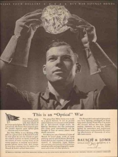 bausch lomb optical company 1943 this is an optical war ww2 vintage ad