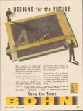 bohn aluminum brass corp 1943 designs for the future ww2 vintage ad