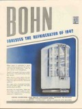 bohn aluminum brass corp 1943 foresees the refrigerator ww2 vintage ad