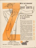bryant chucking grinder co 1943 not interested zoot suits vintage ad