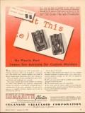 celanese celluloid corp 1943 plastic part custom molders vintage ad