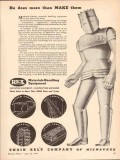chain belt company 1943 he does more than make them ww2 vintage ad