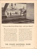 chase national bank 1943 bend white oak with your hands ww2 vintage ad