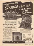 clarage fan company 1943 reason toughest all fan services vintage ad