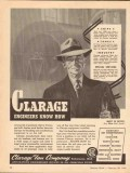 clarage fan company 1943 engineers know how ships tanks ww2 vintage ad