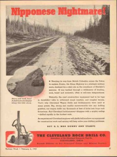 cleveland rock drill company 1943 nipponese nightmare alcan vintage ad