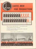 colson corp 1943 saves men for production line ww2 vintage ad