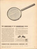 combustion engineering 1943 significance insignificant ww2 vintage ad
