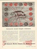 cone automatic machine company 1943 natures tragic mistake vintage ad