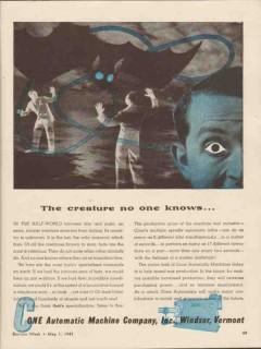 cone automatic machine company 1943 creature no one knows vintage ad