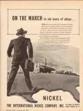 international nickel company 1943 march aid users alloy ww2 vintage ad