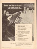 international nickel company 1943 salute men of vision dams vintage ad