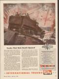 international harvester 1943 trucks that rain death upward vintage ad