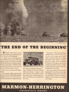 marmon-herrington 1943 end of the beginning all-wheel-drive vintage ad
