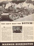 marmon-herrington 1943 you cant beat the dutch ww2 truck vintage ad