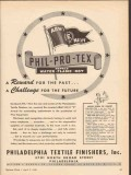 philadelphia textile finishers 1943 reward challenge future vintage ad