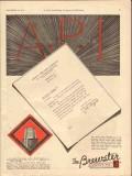 Brewster Company 1929 Vintage Ad Oil JC Tippett Drilling