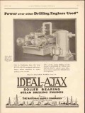 Ajax Iron Works 1930 Vintage Ad Oil Drilling Engines Power Over Other