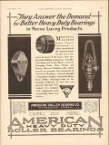 american roller bearing co 1930 demand better heavy duty vintage ad