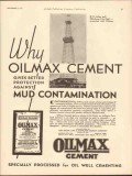 Ash Grove Lime Portland Cement 1930 Vintage Ad Why Oilmax Protection
