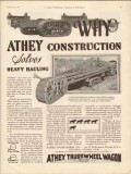 athey truss wheel company 1930 solves heavy hauling oil gas vintage ad