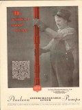 Axelson Mfg Company 1930 Vintage Ad Oil He Knows Good Pump Oilfield