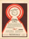 Black Sivalls Bryson Inc 1930 Vintage Ad Oil From Maracaibo To Okotoks