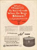 Black Sivalls Bryson Inc 1930 Vintage Ad Oil Tank Crude Sun Shines