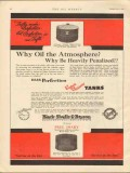 Black Sivalls Bryson Inc 1930 Vintage Ad Oil Tank Atmosphere Penalized
