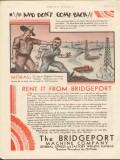 Bridgeport Machine Company 1930 Vintage Ad Oilfield Hychrome Come Back