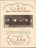 Clark Brothers Company 1930 Vintage Ad Engine New Type Power Cylinder