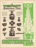 Continental Supply Company 1930 Vintage Ad Oil Westcott Christmas Tree