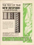 Continental Supply Company 1930 Vintage Ad Oil New Bedford Cordage