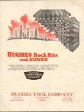 Hughes Tool Company 1930 Vintage Ad Oil Rock Bit Cones Rotary Drilling