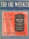 Hughes Tool Company 1930 Vintage Ad Oil Weekly Cover Rock Bits Proof