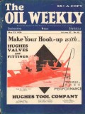 Hughes Tool Company 1930 Vintage Ad Oil Weekly Cover Hook-Up Valves