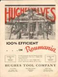 Hughes Tool Company 1930 Vintage Ad Oilfield Valves Efficient Roumania