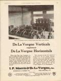 I P Morris De La Vergne Inc 1930 Vintage Ad Oilfield Diesel Verticals