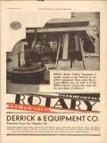Ideco-Boykin Derrick Equipment Company 1930 Vintage Ad Oil Rotary Pump