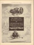 Ingersoll-Rand 1930 Vintage Ad Oil Field PO Engine Proved Service