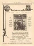Martin-Decker Corp 1930 Vintage Ad Oil Field Otis-Hoyt Indispensable